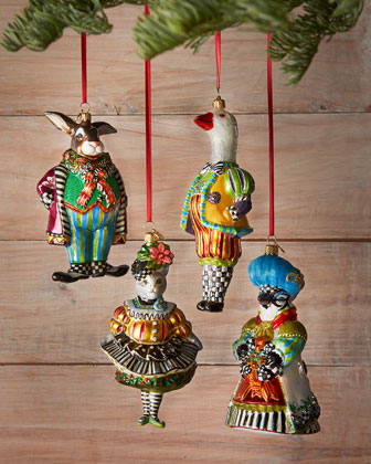 Aesthetic Oiseau: Catalog Pick: MacKenzie-Childs Ornaments at Horchow