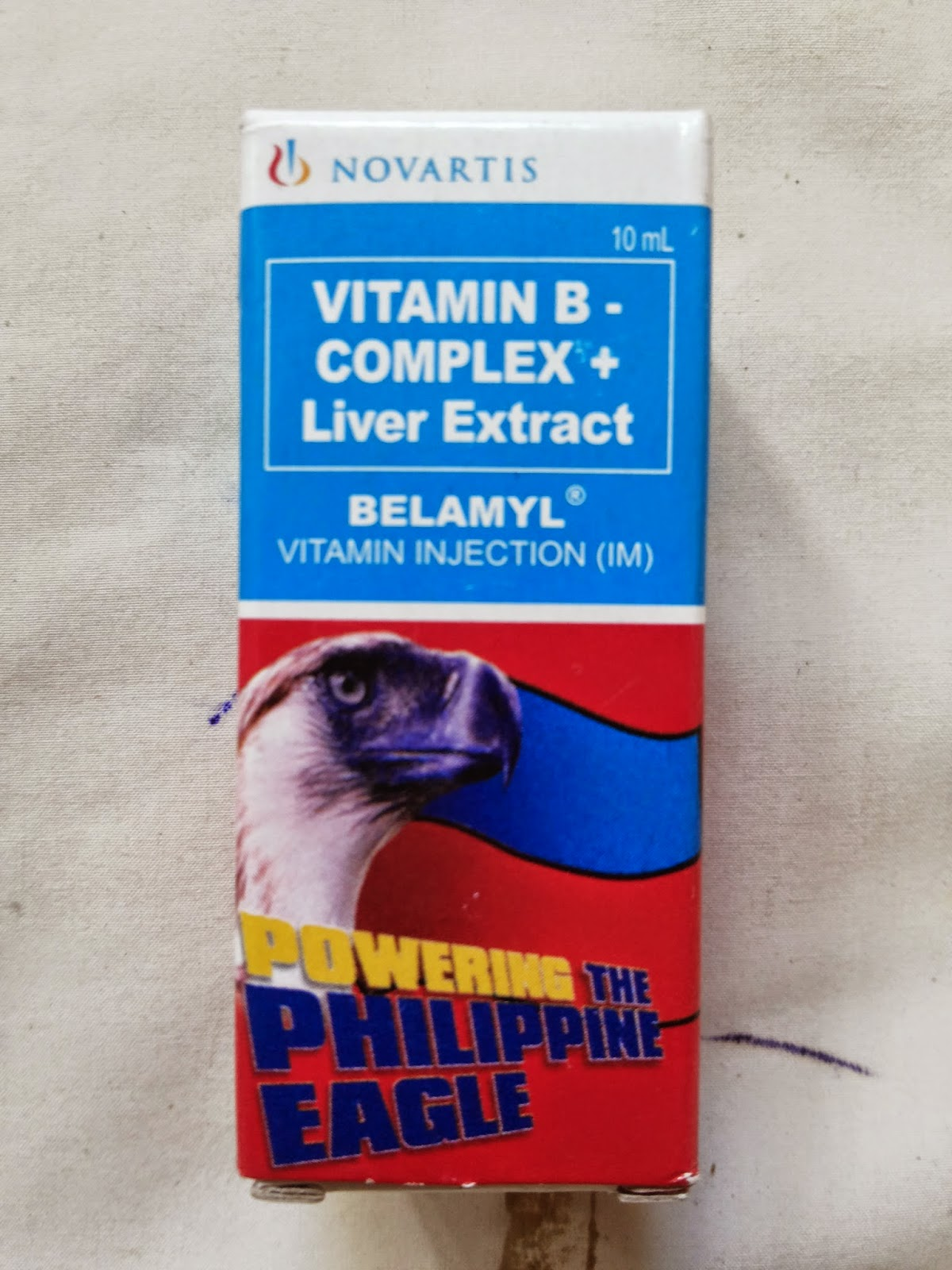 Suplemen makanan untuk semua hewan dengan defisiensi B kompleks dan anemia yang berhubungan dengan kekurangan vitamin B12.