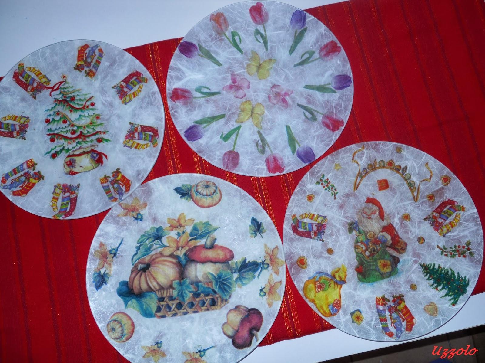 Uzzolo buon 2014 piatti decorati for Piatti decorati