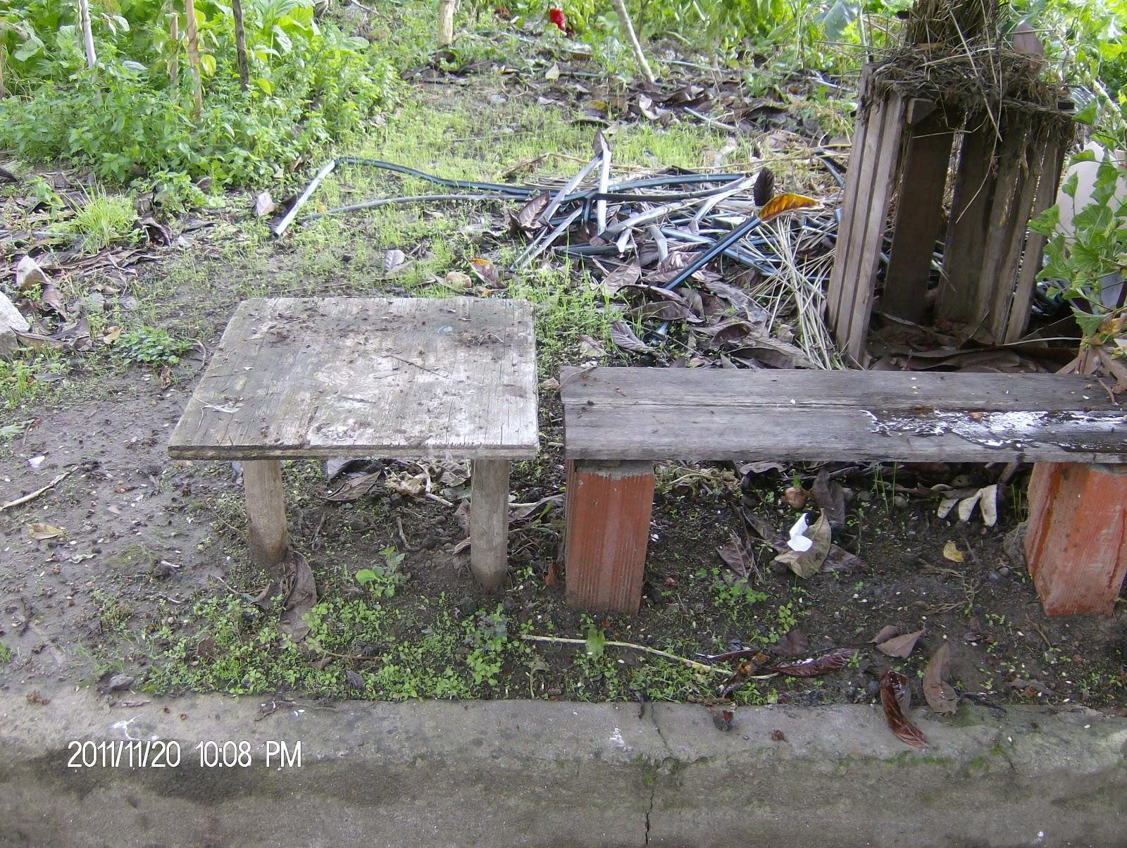 HORTA DO JOÃO: bancos e mesas de madeira #708546 1600x1204