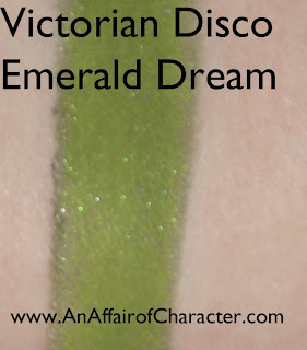 Victorian Disco Emerald Dream