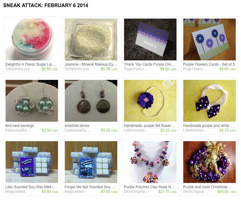 https://www.etsy.com/treasury/Mjg5NTEyNzJ8MjcyNTY3NTg2MA/sneak-attack-february-6-2014
