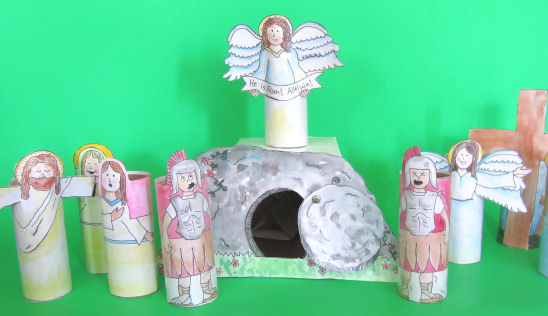 Christian Easter Crafts For Kids Teaching Them The Story