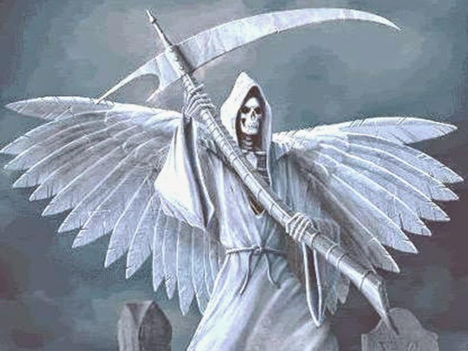 foto de la Santa Muerte
