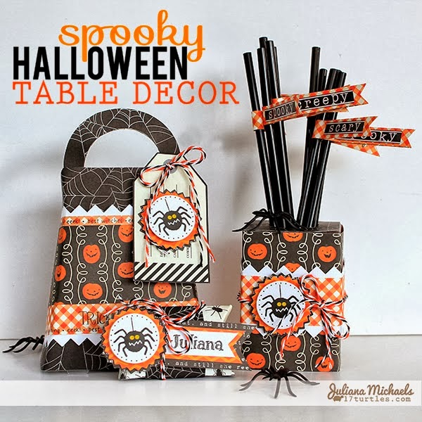 see how to make spooky Halloween table decor