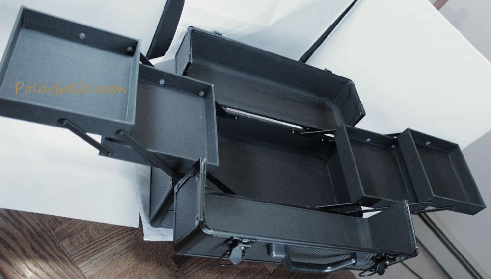 folding train case, salon equipment,