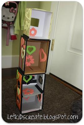 Shoebox {Lalaloopsy} Doll House