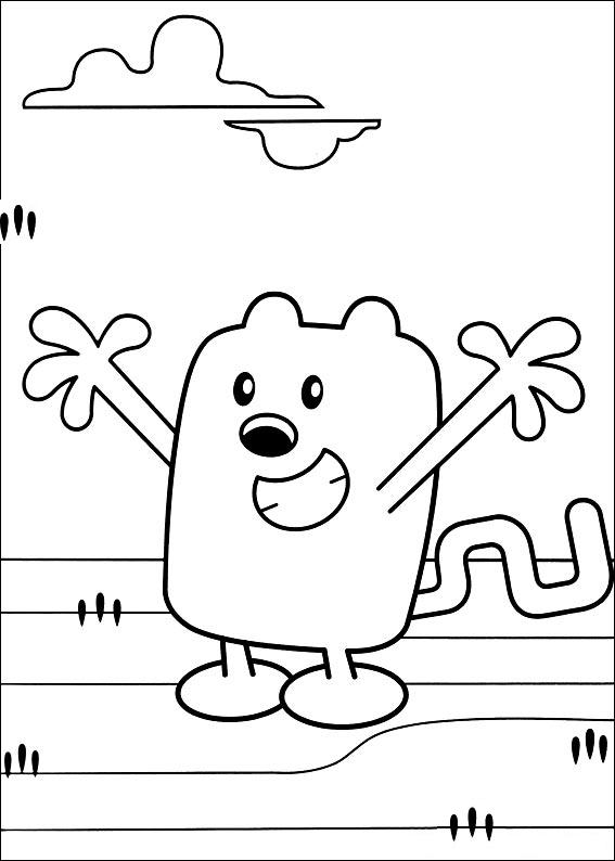 Wow Wow Wubbzy Coloring Pages To Print