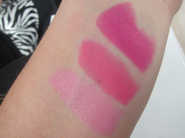 MAC Fashion Sets Swatches