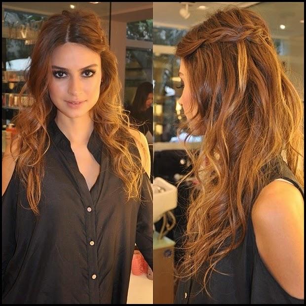 Side Braid With Curls Www Picswe Com