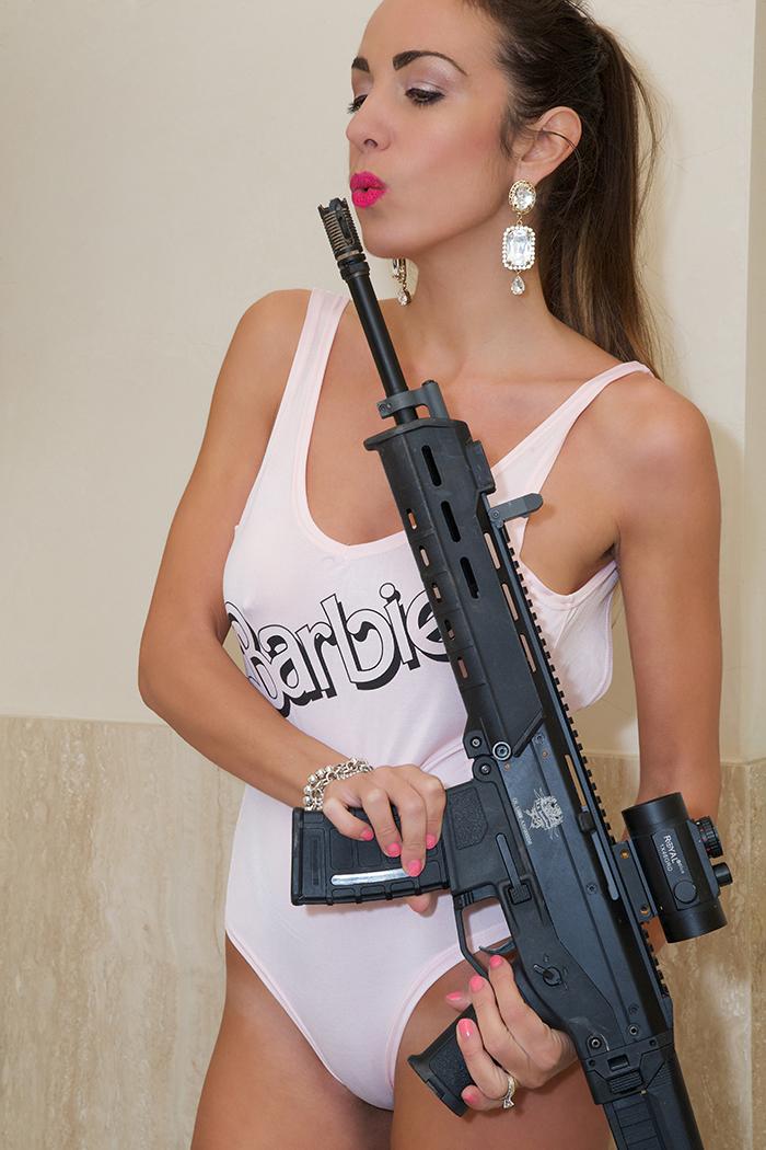 barbie con mitra