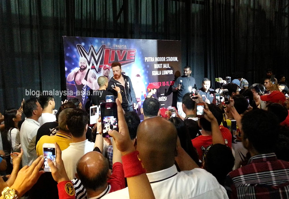 Sheamus Malaysia WWE