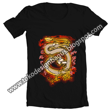 design kaos dragon