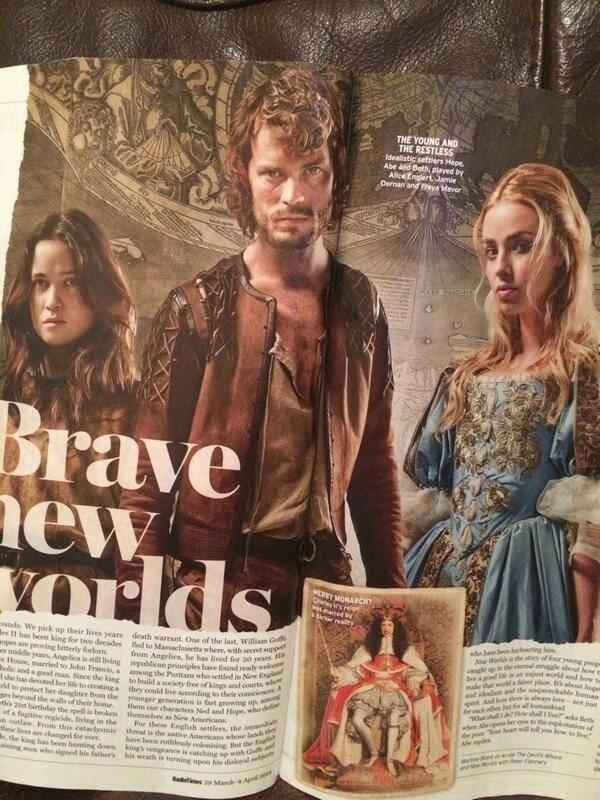 Scan: Jamie Dornan en Radio Times Magazine