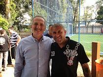 Vereador Capá com o Ministro dos Esportes Aldo Rabelo
