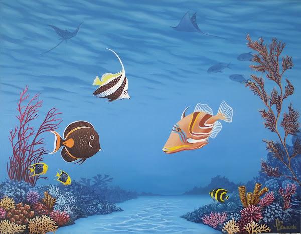 Picasofish 22 x 28