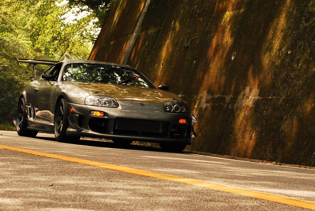 touge, nielegalne wyścigi, kręte, górskie drogi, japońskie, JDM, modded, Toyota Supra MK4 JZA80, 峠, 走り屋, チューニングカー, ワインディングロード