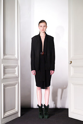 Vasilisa Pavlova: Damir Doma - pre-fall 2012 for style.com