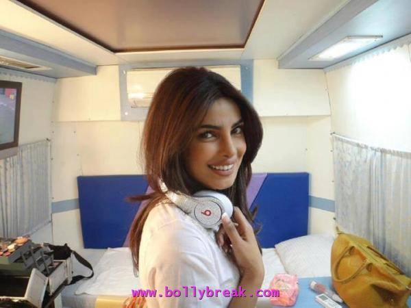 priyanka chopra in white jacket -  priyanka chopra real life pics 2012