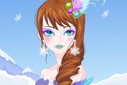 Sihirli Buz Perisi Makyajı Oyunu