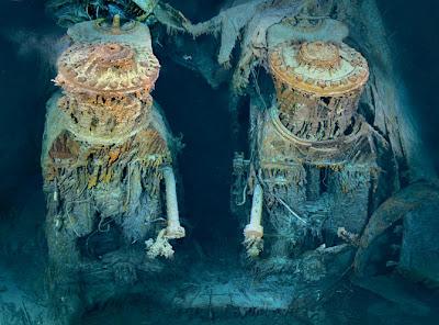 nuevas fotos del titanic hundido