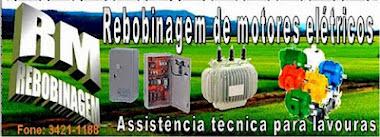 RM- Rebobinagem de Motores Elétricos 44-3421-1188