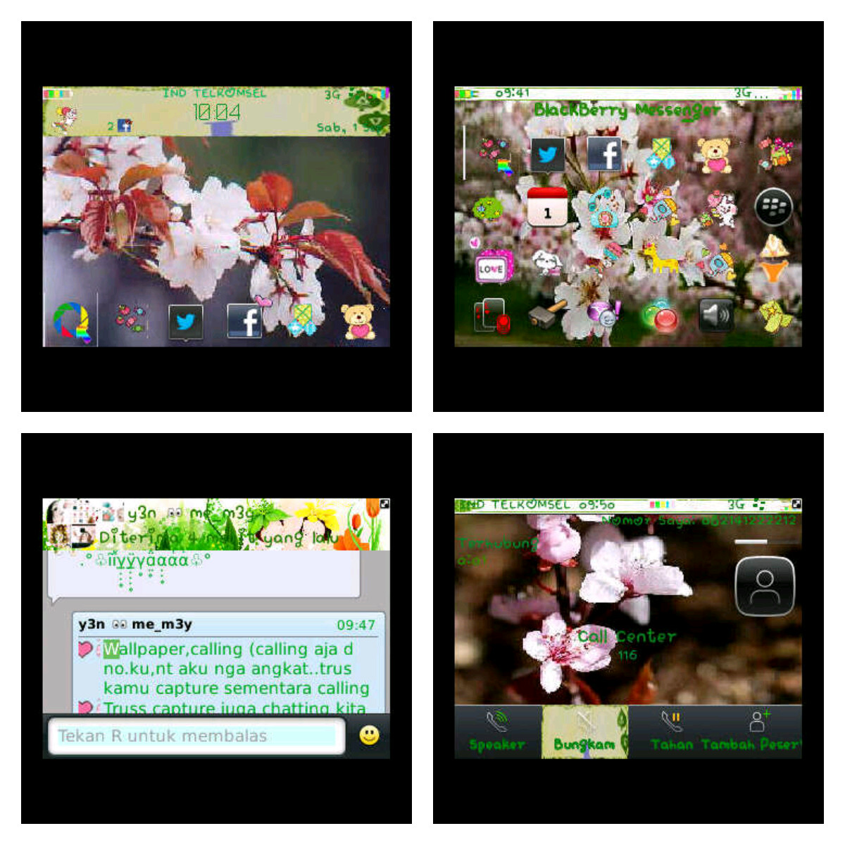 Cute Blackberry Themes And Fonts Cuteblackberrythemes Special