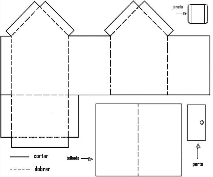 Loja de arte na telha moldes para fazer casinha de - Montar un cine en casa ...