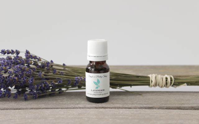 100% Pure Lavender Essential Oil from Simple is Pretty Shop