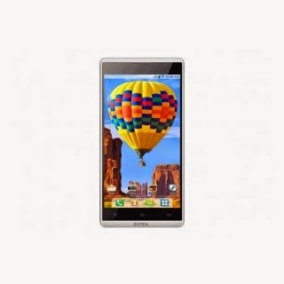Shopclues: Buy Intex Aqua I5 HD mobile + Rs.175 cashback a Rs.8673 only