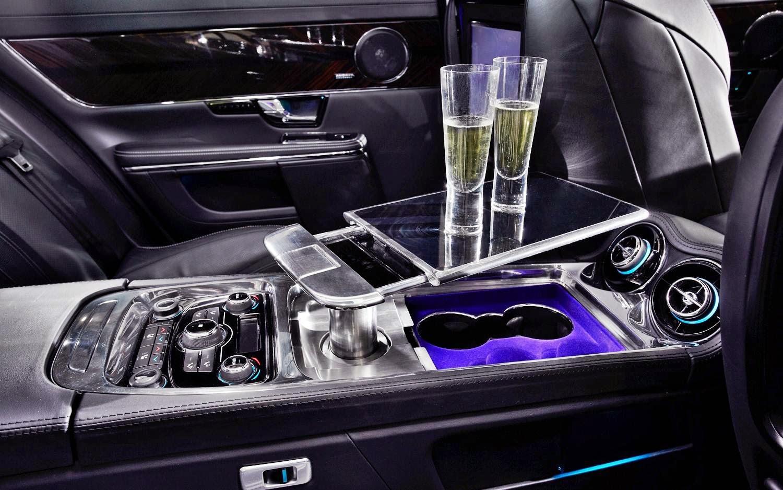 Jaguar XJ 2014 Interior wallpapers