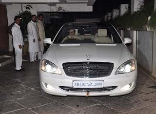 Bachchans visit Sonali Bendre's residence for Karwa Chauth