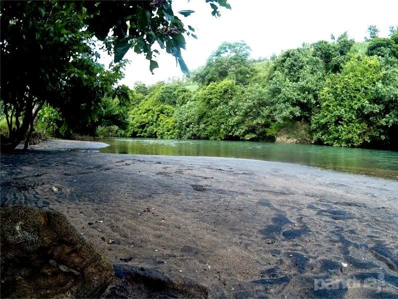 Sungai di pantai pangi