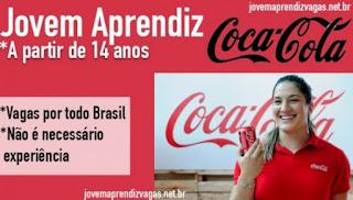 Coca cola abre processo seletivo para jovem aprendiz