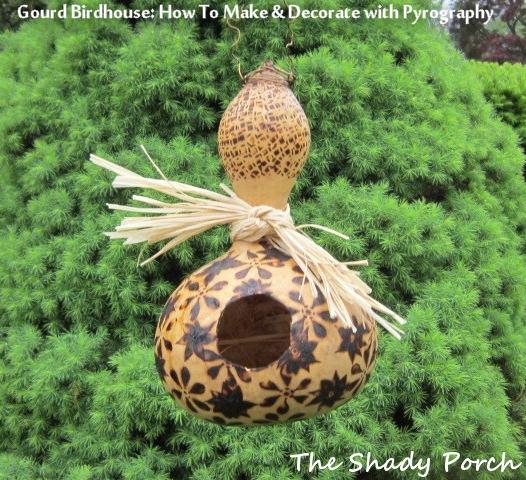 Bird Gourd House    The Shady Porch