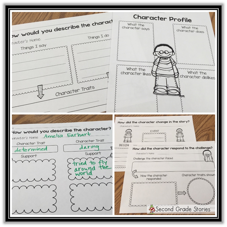 https://www.teacherspayteachers.com/Product/Character-Response-Graphic-Organizers-1329702