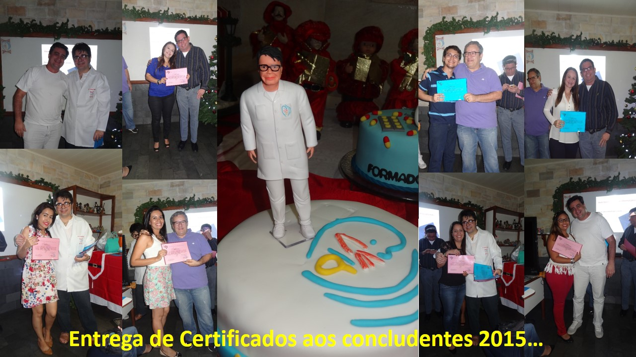 Entrega de Certificados 2015