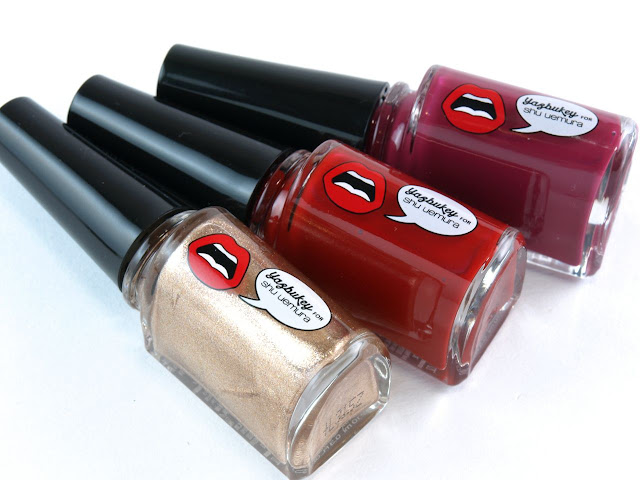 Yazbukey for Shu Uemura Summer 2015 Collection Nail Colors: Review and Swatches