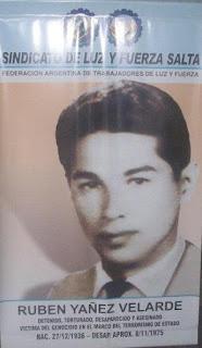 Homenaje a Rubén Yañez Velarde