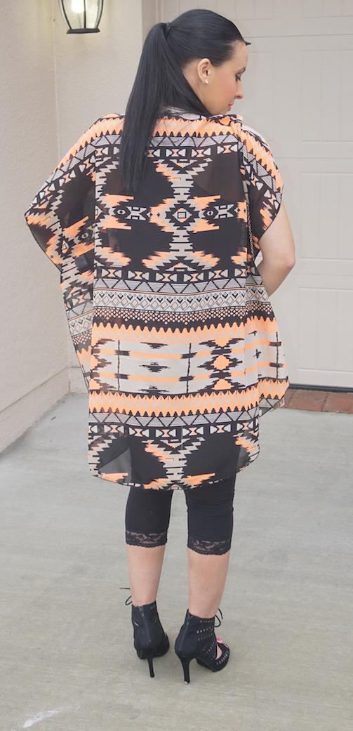 OOTD-Tribal-Print-Chiffon-Kimono