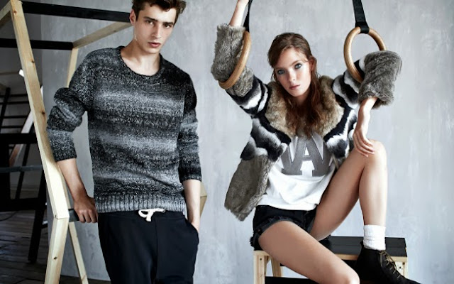 grey looks on Pull&Bear