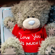 teddy, bear, love, you, me-to