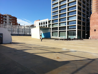 vast space for skating at 3 chimney park