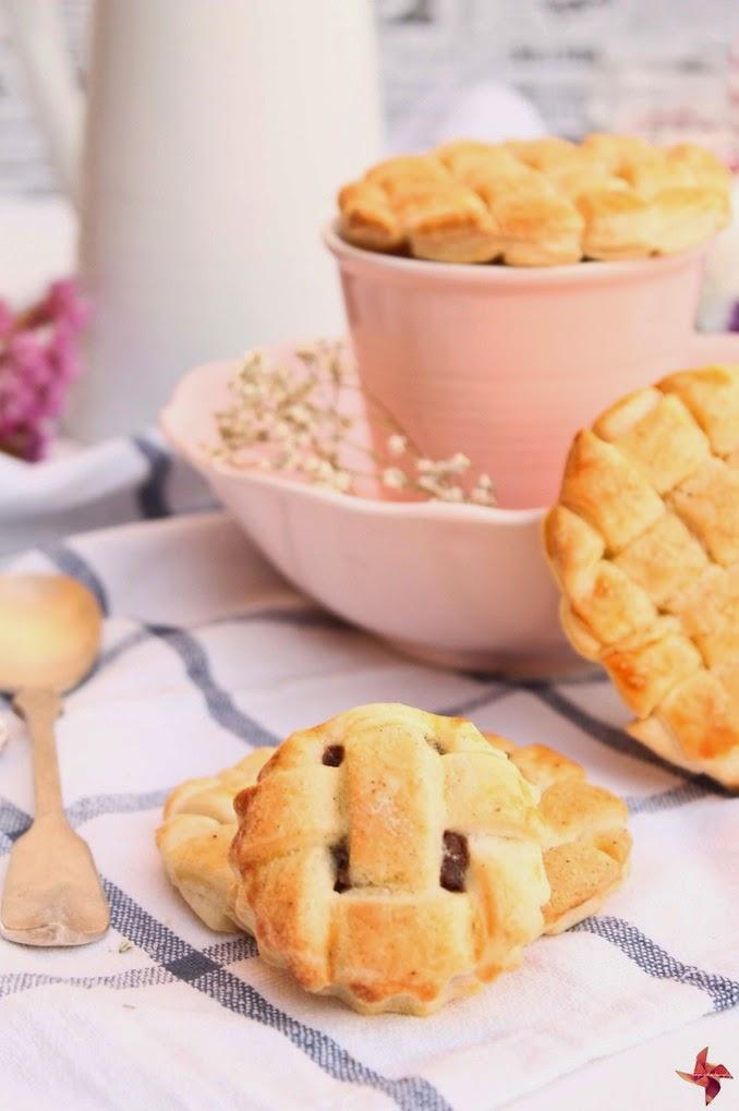 Receta galletas enrejadas