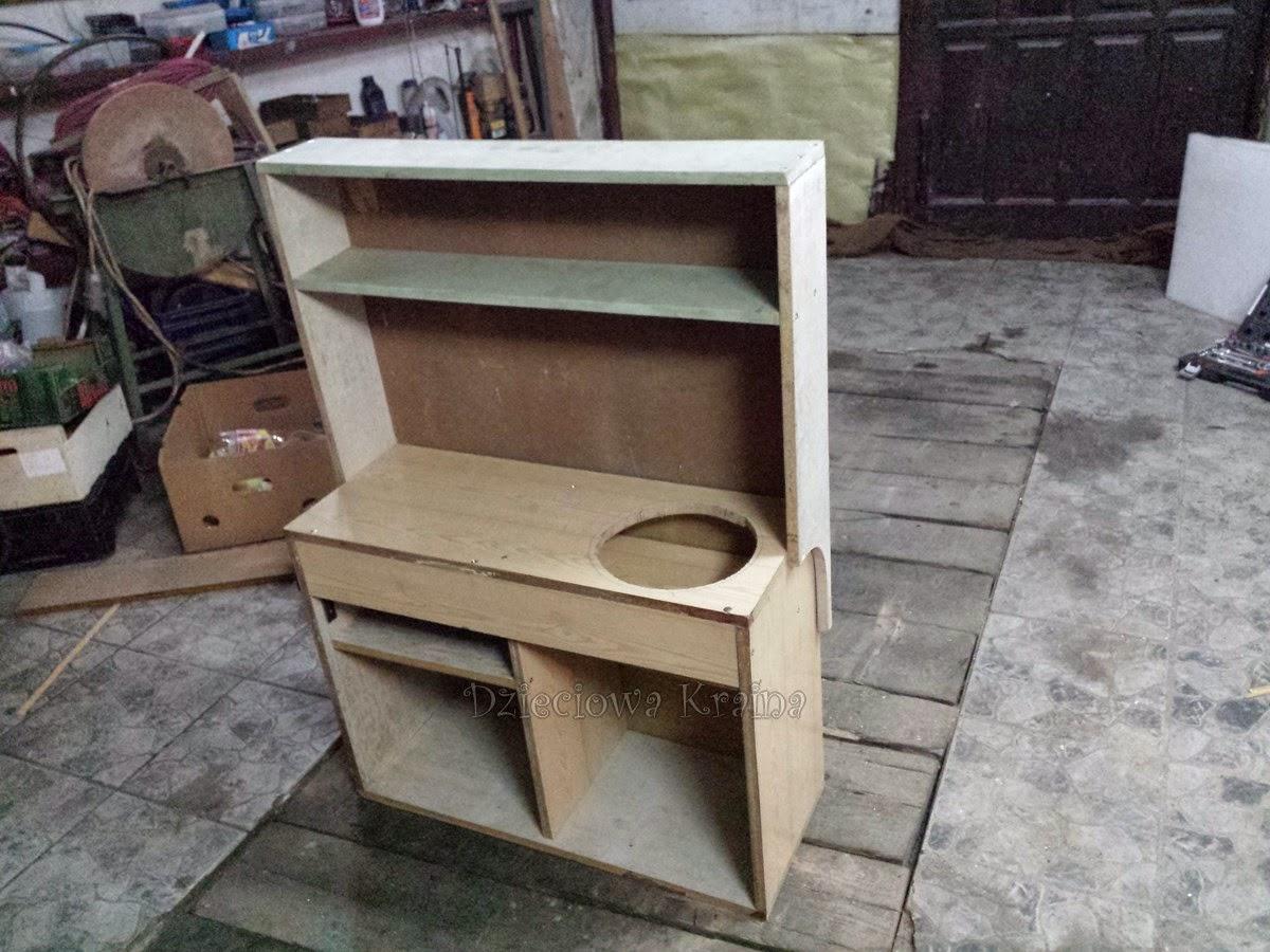 Dzieciowa Kraina Kuchnia dla dzieci DIY -> Kuchnia Dla Dzieci Na Baterie