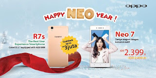 Promo OPPO Happy Neo Year
