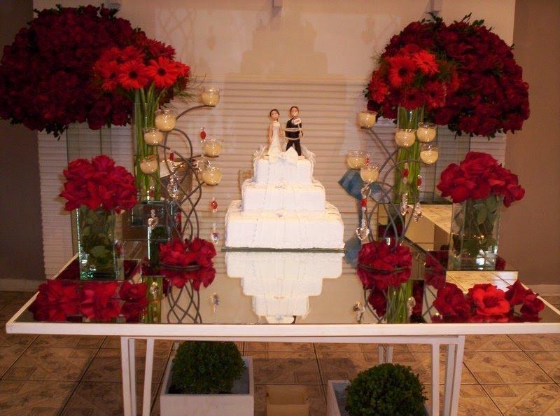 decoracao casamento dourado e vermelho:DECORA??O DE CASAMENTO EM ...