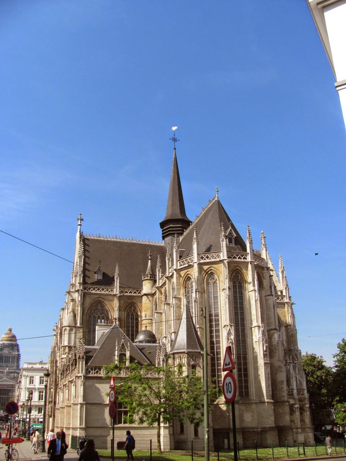 Notre-Dame du Sablon Church Exterior
