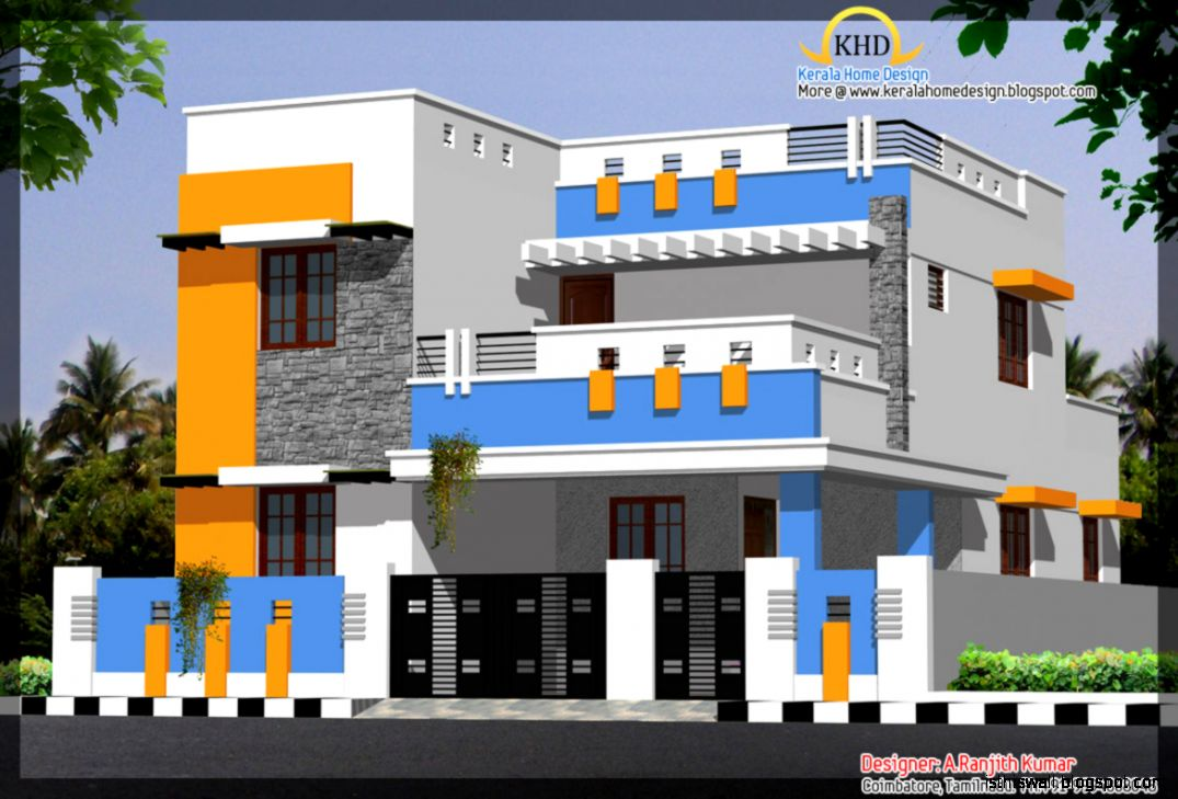 Home elevation design software this wallpapers for Normal home front design