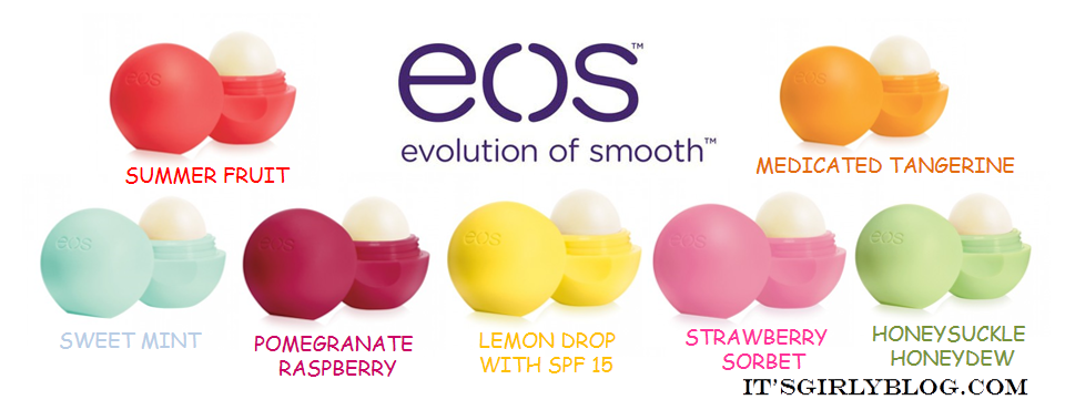 Kinds of eos lip balm